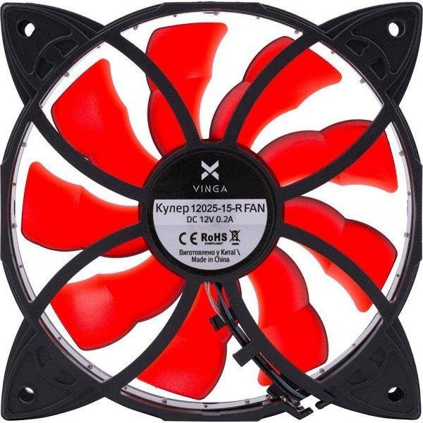 Вентилятор для корпуса Vinga 12025-15-R фото