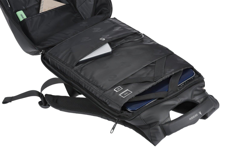 """Рюкзак для ноутбука 2E BPK63148BK 16"""" Black фото 7"""