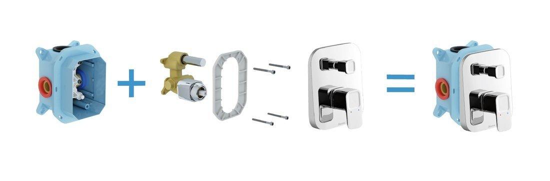 Верхня частина змішувача для ванни RAVAK 10 TD 065.00 X070070 фото2