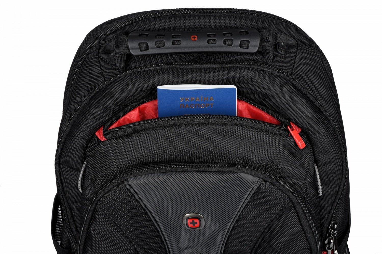"""Рюкзак для ноутбука Wenger Legacy 16"""" Black фото"""