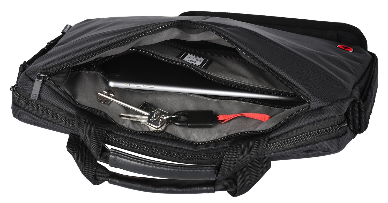 "<p>Сумка для ноутбука Wenger Format 14"" Laptop Slimcase Black</p>фото7"