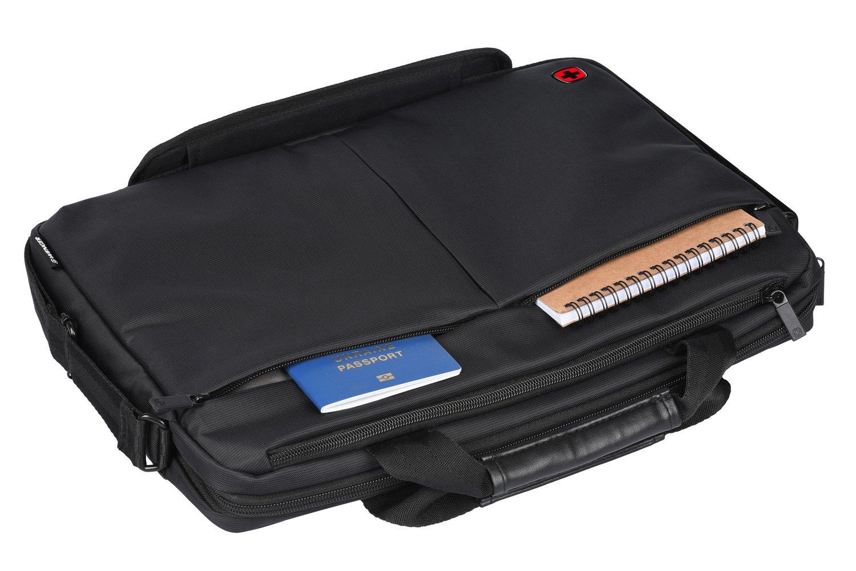 "<p>Сумка для ноутбука Wenger Format 14"" Laptop Slimcase Black</p>фото8"