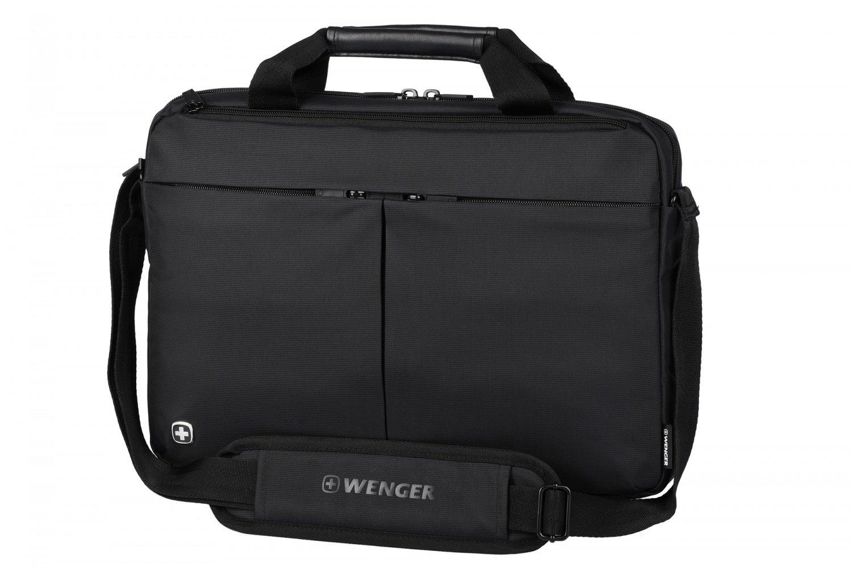 "Сумка для ноутбука Wenger Format 16"" Laptop Slimcase Black фото"