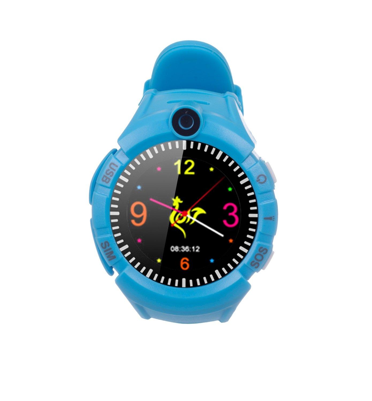 ≡ Детские часы ERGO с GPS трекером COLOR C010 Blue – купить в Киеве ... b2e3bf865aa7f