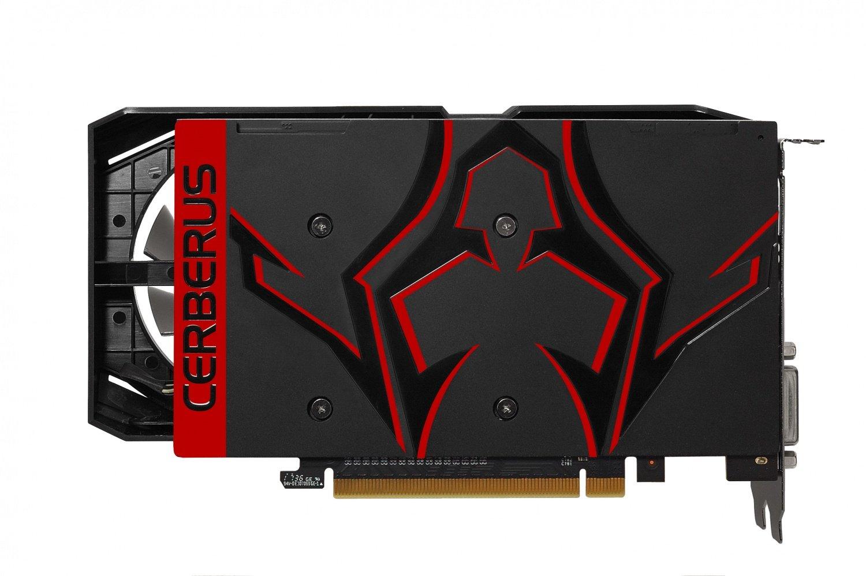 Видеокарта ASUS GeForce GTX1050TI 4GB DDR5 OC CERBERUS (CERBERUS-GTX1050TI-O4G) фото