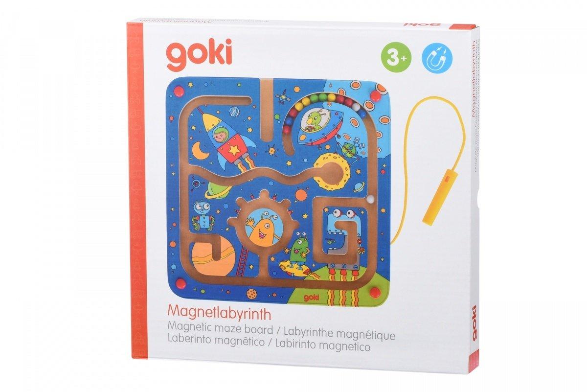 Игра goki Магнитный лабиринт. Космос (53817G) фото