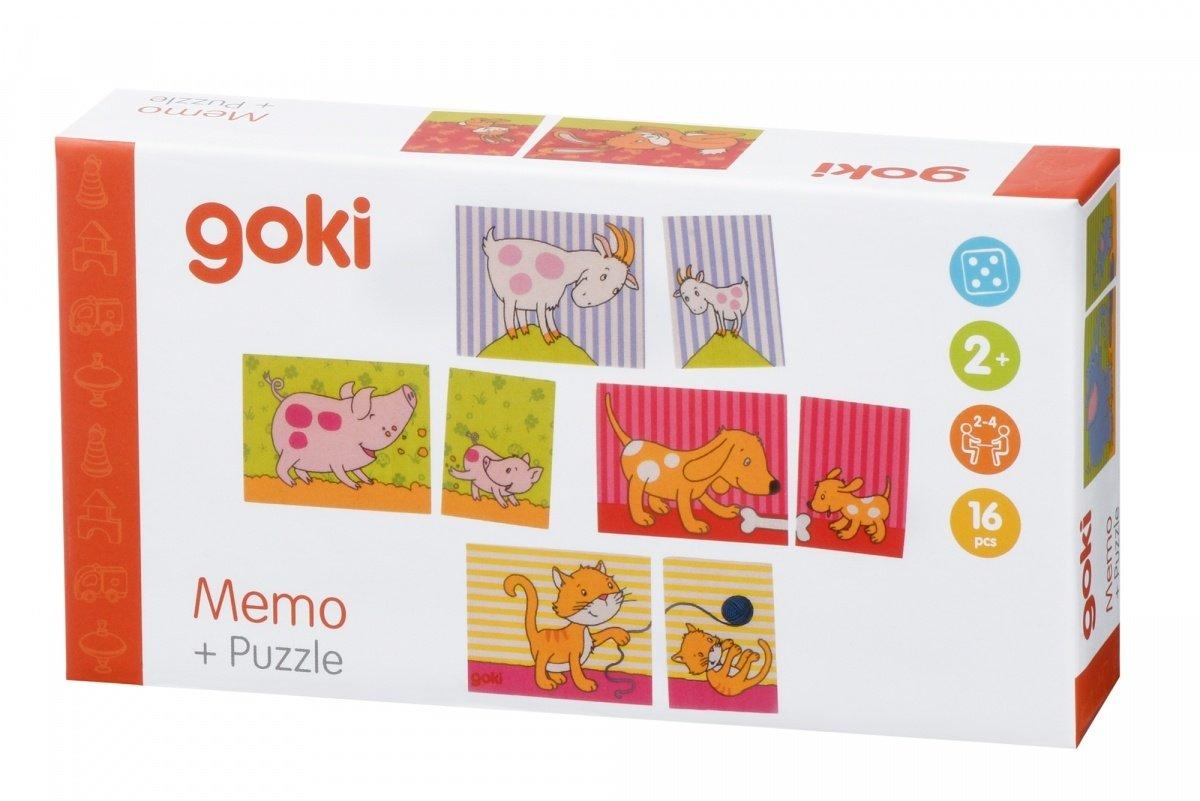Игра мемо goki Мама и ребенок (56819G) фото