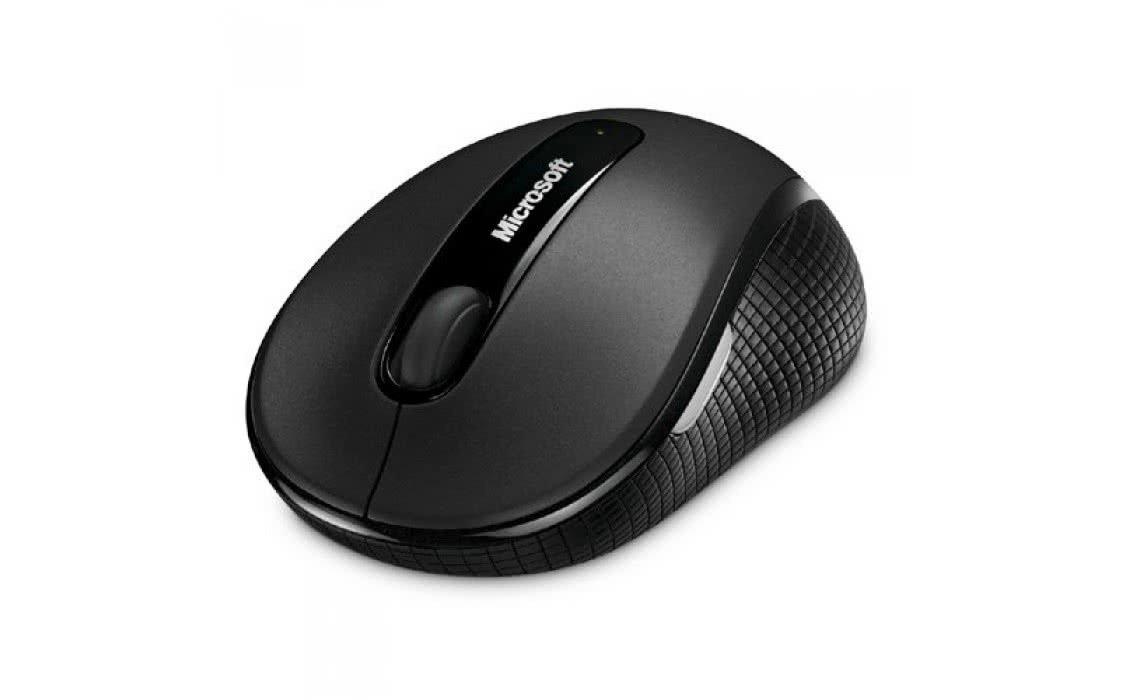 Миша Microsoft Mobile 4000 WL Graphite (D5D-00133) фото