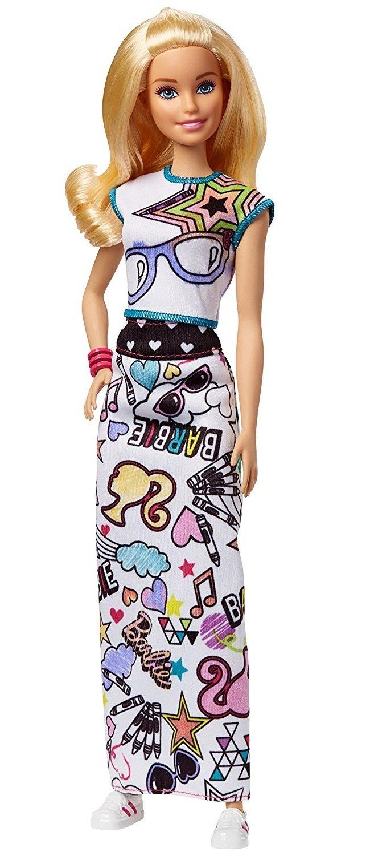 Набор Barbie x Crayola Раскраска одежды (FPH90) – купить в ...