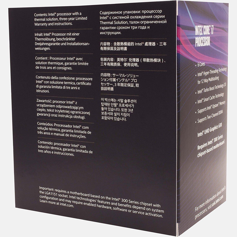 Процесор INTEL Core i7-8700 Box (BX80684I78700) фото3