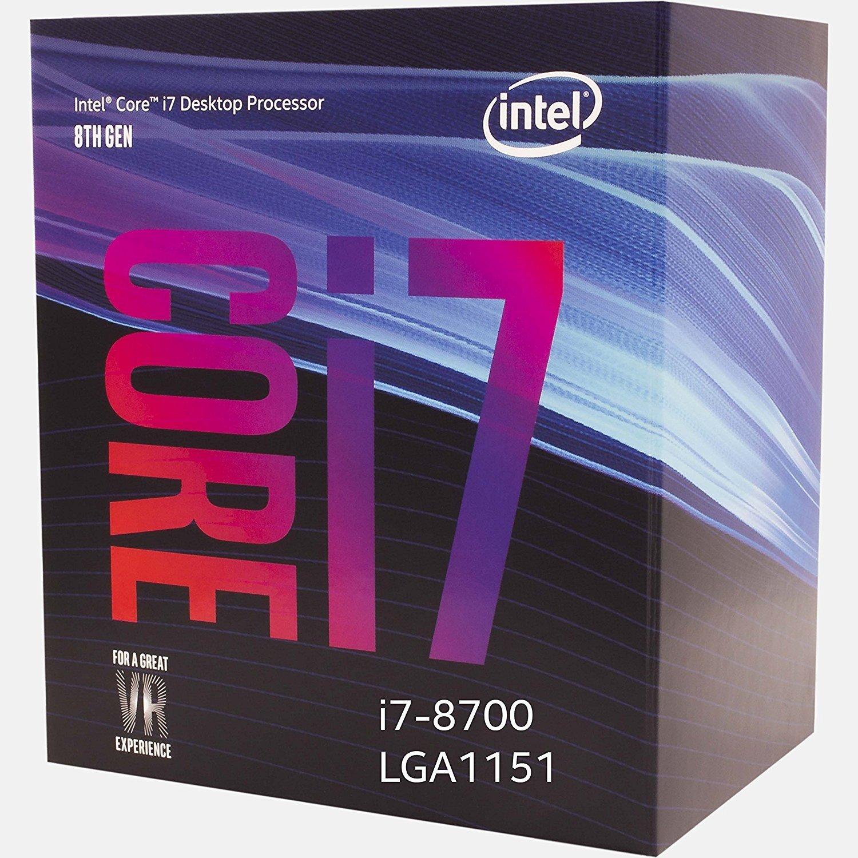 Процесор INTEL Core i7-8700 Box (BX80684I78700) фото2