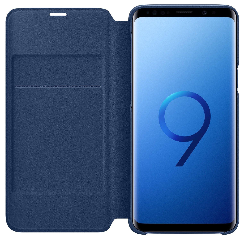 чехол Samsung для Galaxy S9 G960 Led View Cover Blue купить в