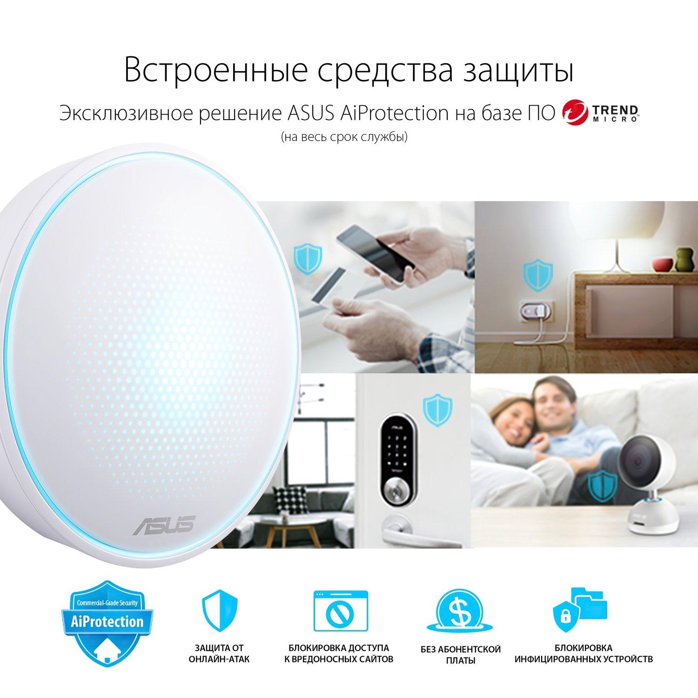 Бездротова система Wi-Fi Asus Lyra MAP-AC2200фото12