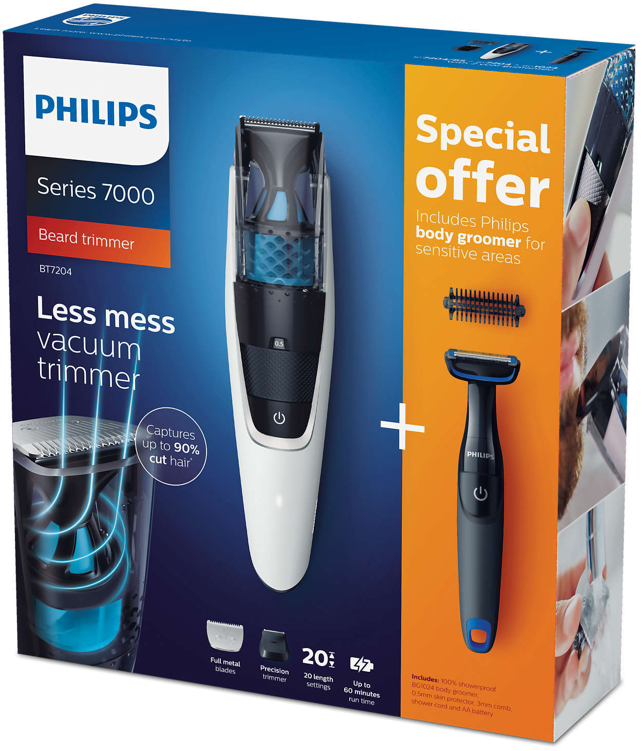 Триммер Philips BT7204/85 фото 11