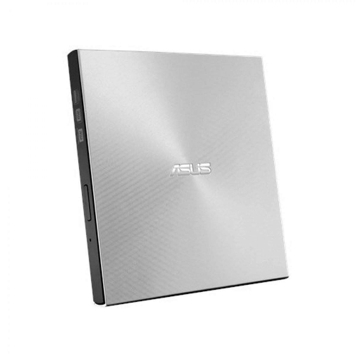 Зовнішній оптичний привід ASUS DVD ± R/RW USB 2.0 ZenDrive U9M Silver фото2