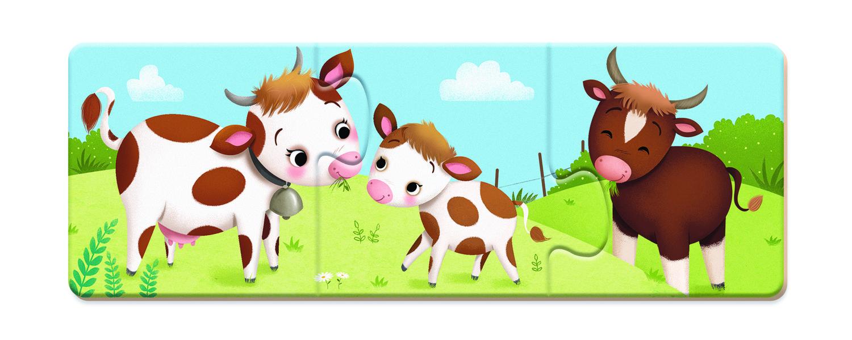 Пазл Janod Семья животных (J02710) фото