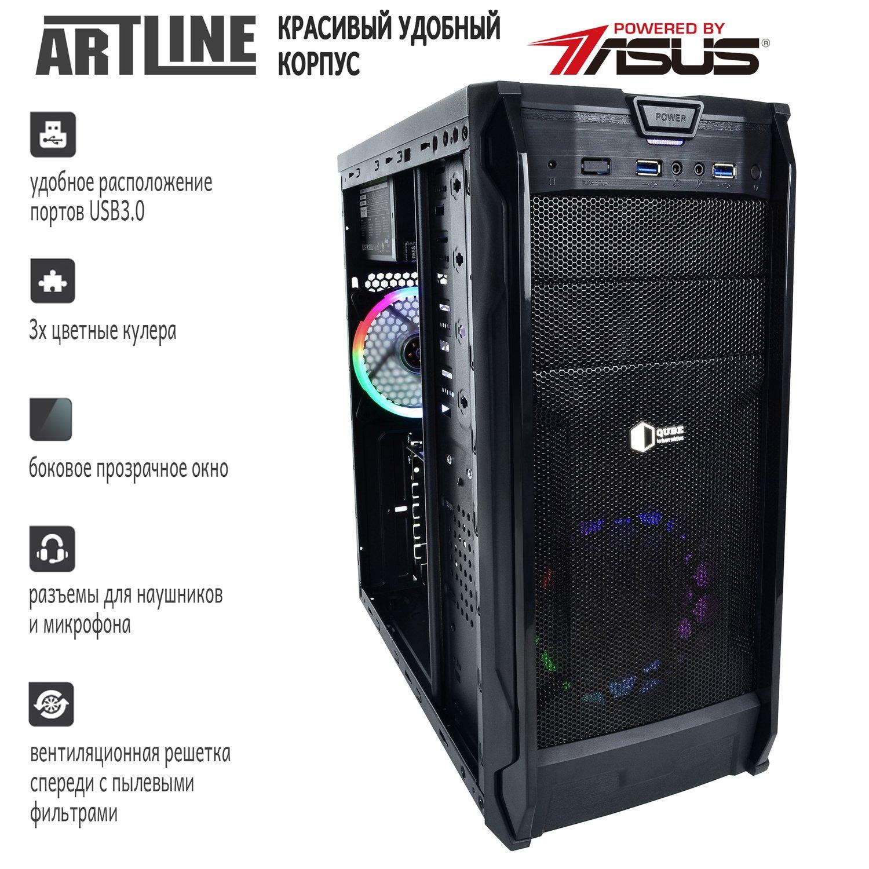 Системний блок ARTLINE Gaming X35 (X35v14) фото3