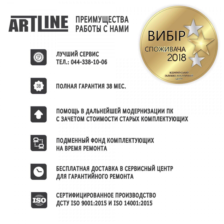 Системний блок ARTLINE Gaming X35 (X35v14) фото11