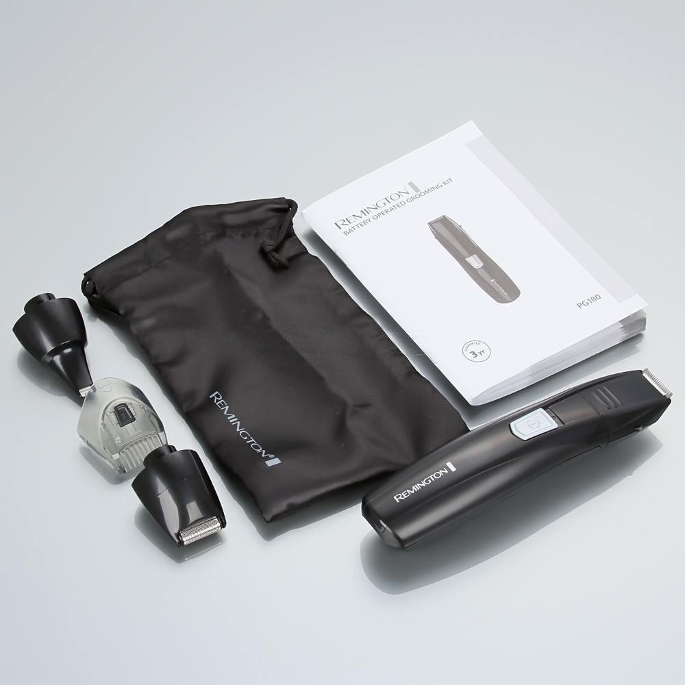 Универсальный тример (4 насадки) Remington PG180 E51 (PG180) фото 4