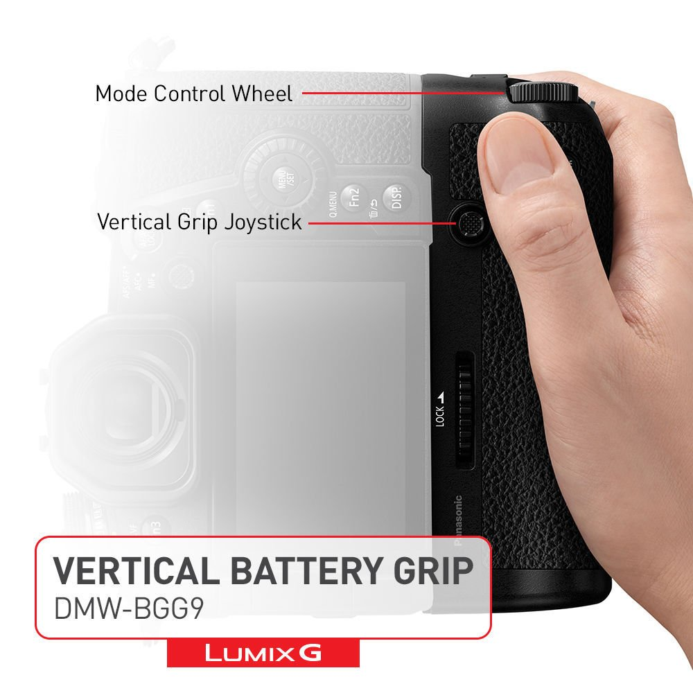 Батарейный блок Panasonic DMW-BGG9EE для DC-G9 (DMW-BGG9EE) фото