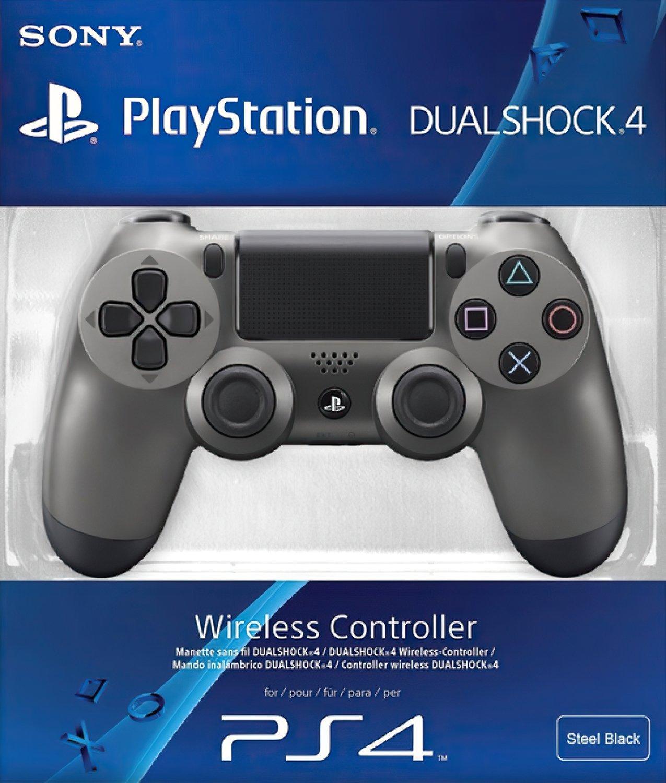 Беспроводной геймпад SONY Dualshock 4 V2 Steel Black для PS4 (9357179) фото 5
