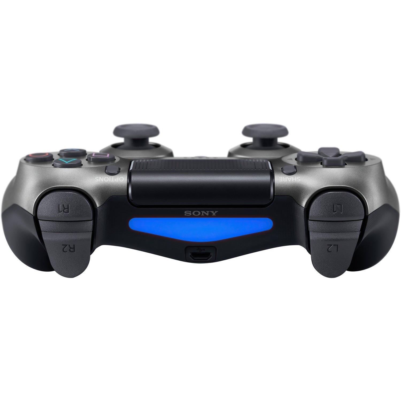 Беспроводной геймпад SONY Dualshock 4 V2 Steel Black для PS4 (9357179) фото 4