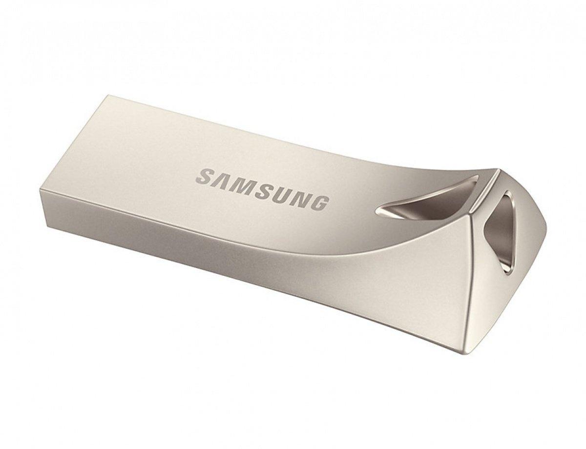 Накопичувач USB 3.1 SAMSUNG BAR 64GB Champagne Silver (MUF-64BE3/APC) фото