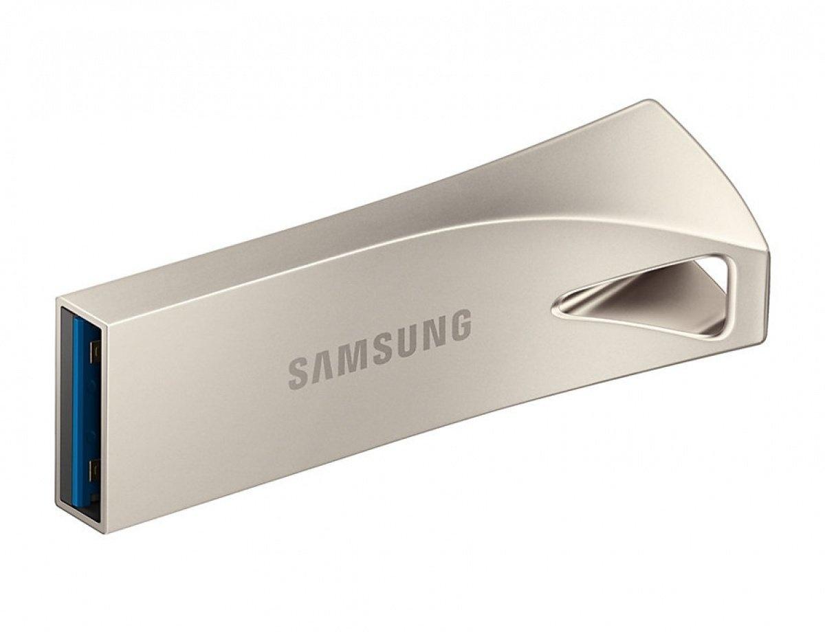 Накопичувач USB 3.1 SAMSUNG BAR 256GB Champagne Silver (MUF-256BE3/APC) фото2