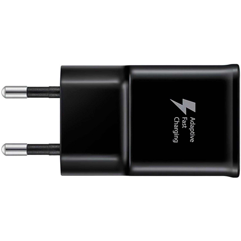 Мережевий зарядний пристрій Samsung EP-TA20 Fast Charger+Type-C Cable Black фото