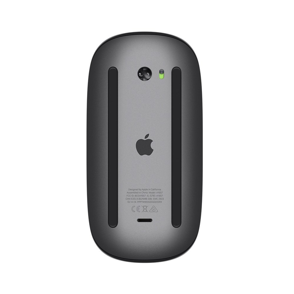 Мышь Apple A1657 Magic Mouse 2 Space Grey фото 3