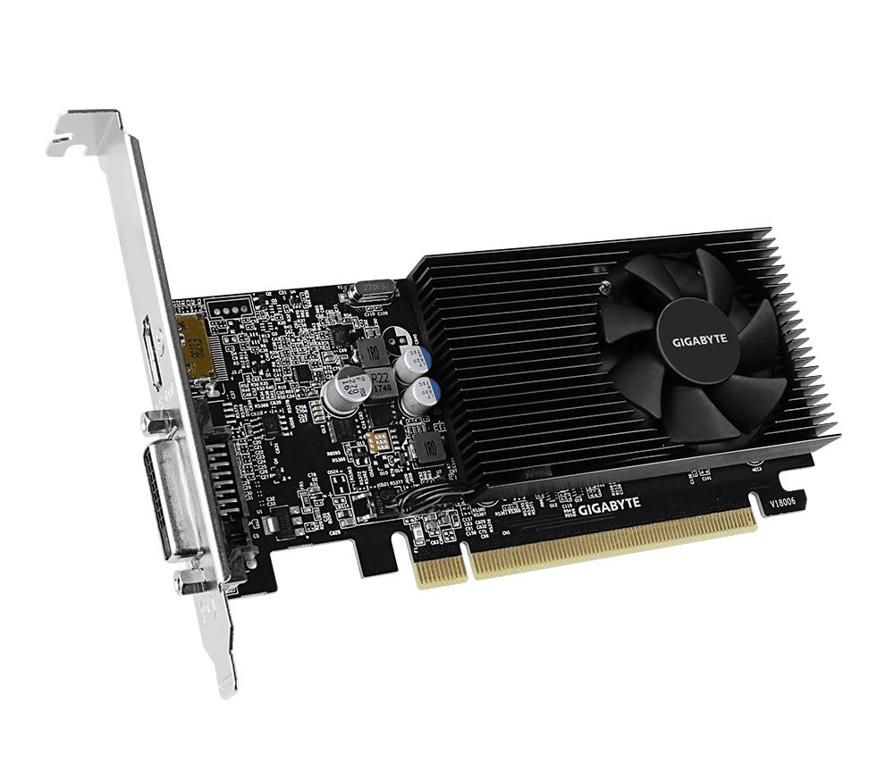Відеокарта GIGABYTE GeForce GT1030 2GB DDR4 Silent low profile (GV-N1030D4-2GL) фото3