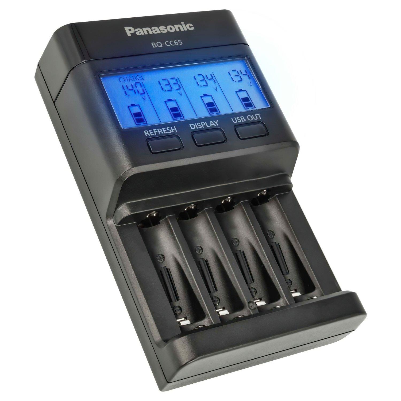 Зарядний пристрій Panasonic Flagship Charger (BQ-CC65E) фото