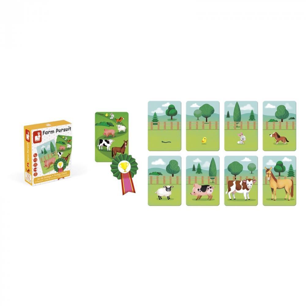 Настольная игра Janod Ферма (J02758) фото