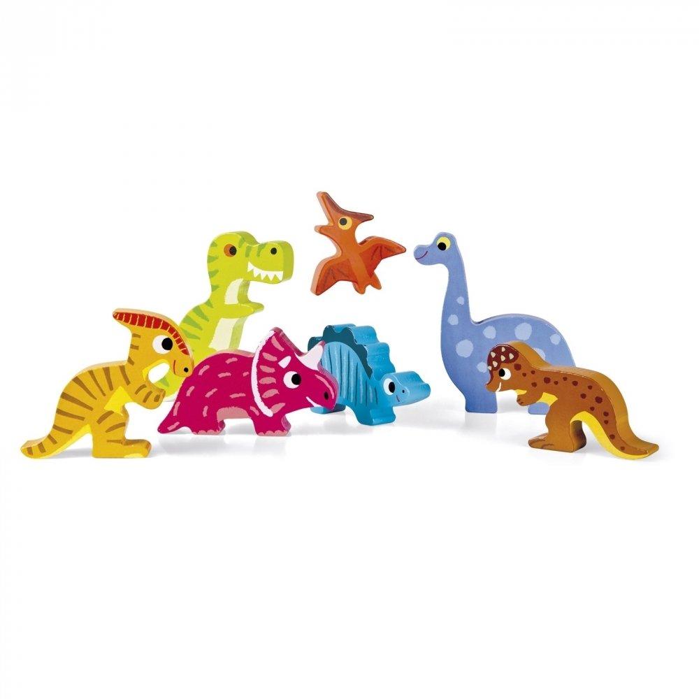 Пазл-вкладыш Janod Динозавры (J07054) фото