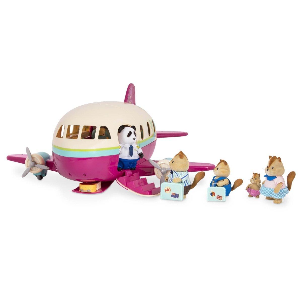 Игровой набор Lil Woodzeez Самолет (61533Z) фото