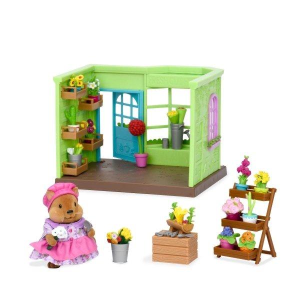 Игровой набор Lil Woodzeez Цветочный магазин, маленький (6164Z) фото