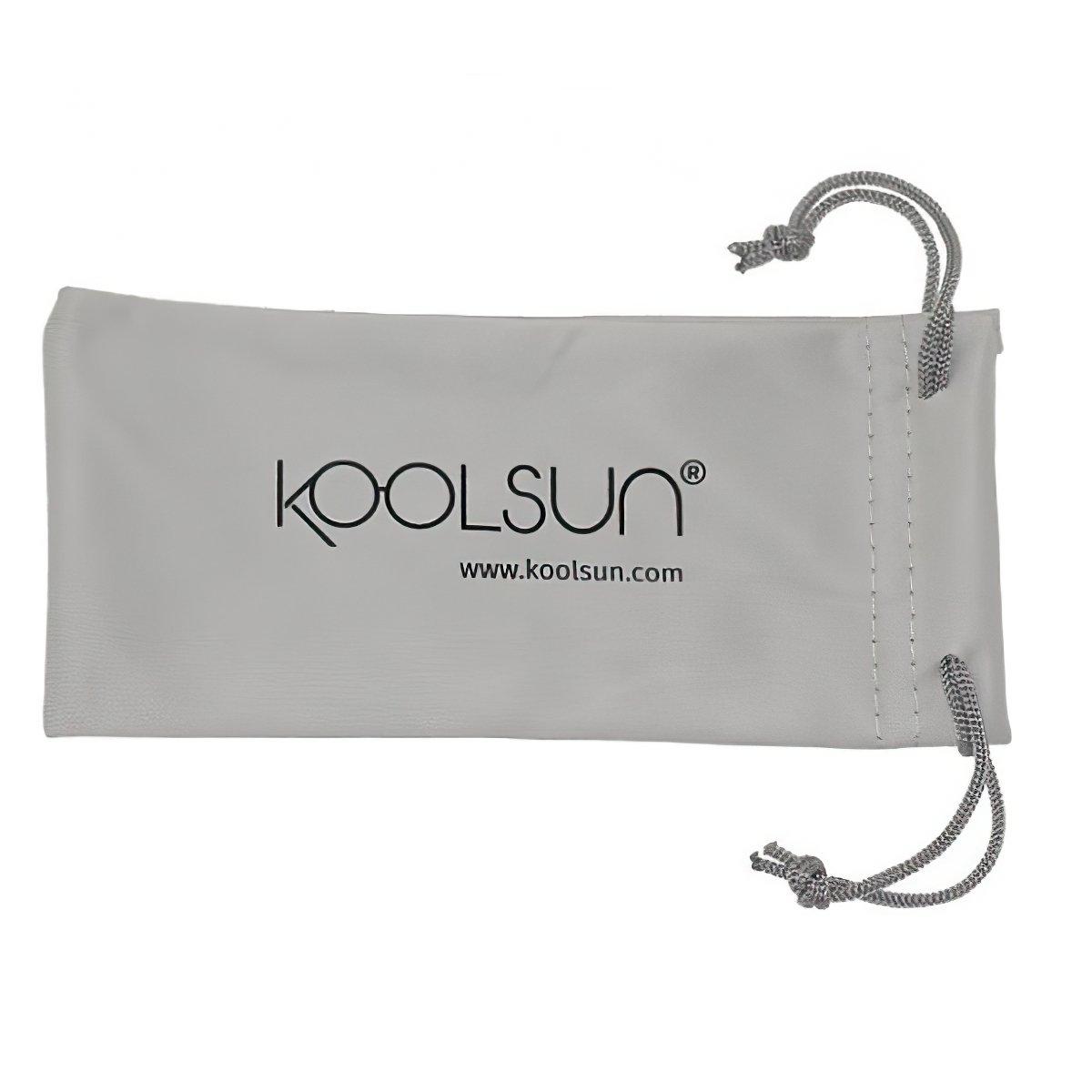 Детские солнцезащитные очки Koolsun Wawe неоново-голубые (Размер 3+) (KS-WANB003) фото 3