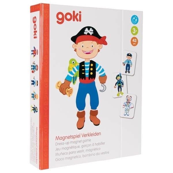 Магнитная книга goki Наряды для мальчика ( 58741G) фото