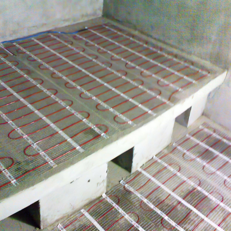 Тепла підлога DEVI Comfort двожильний нагрівальний мат DTIR -150 3,5 м2 фото