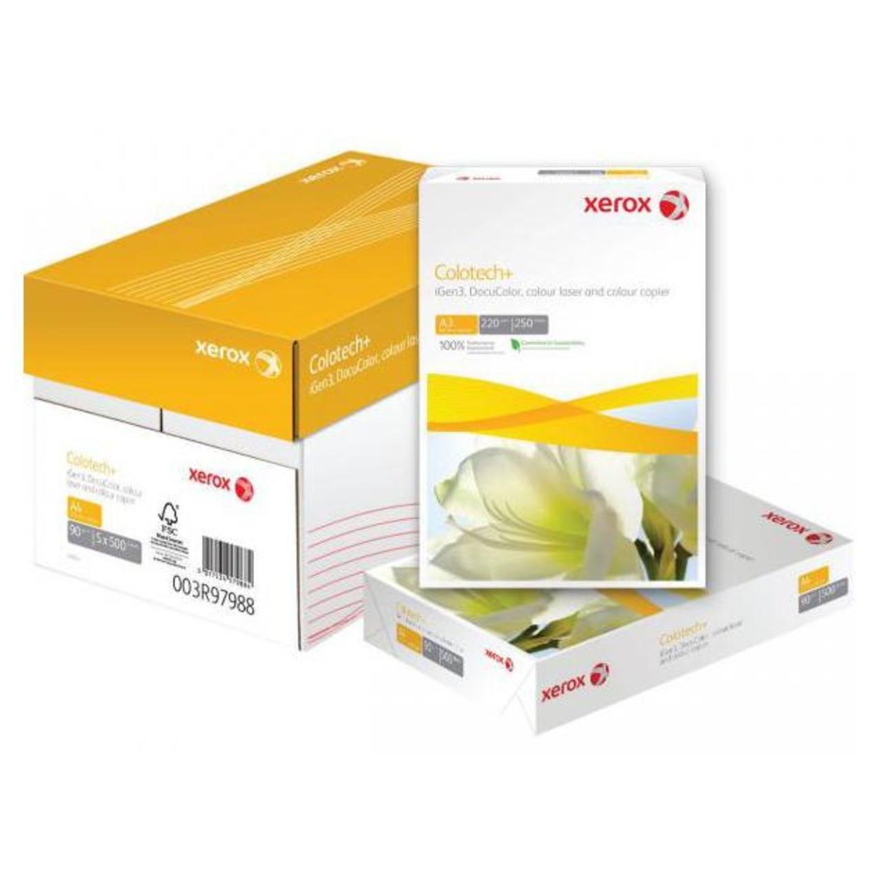 Бумага Xerox COLOTECH + (220) A3 250л. AU (003R97972) фото
