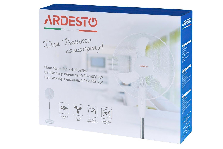 Вентилятор Ardesto FN-1608RW фото
