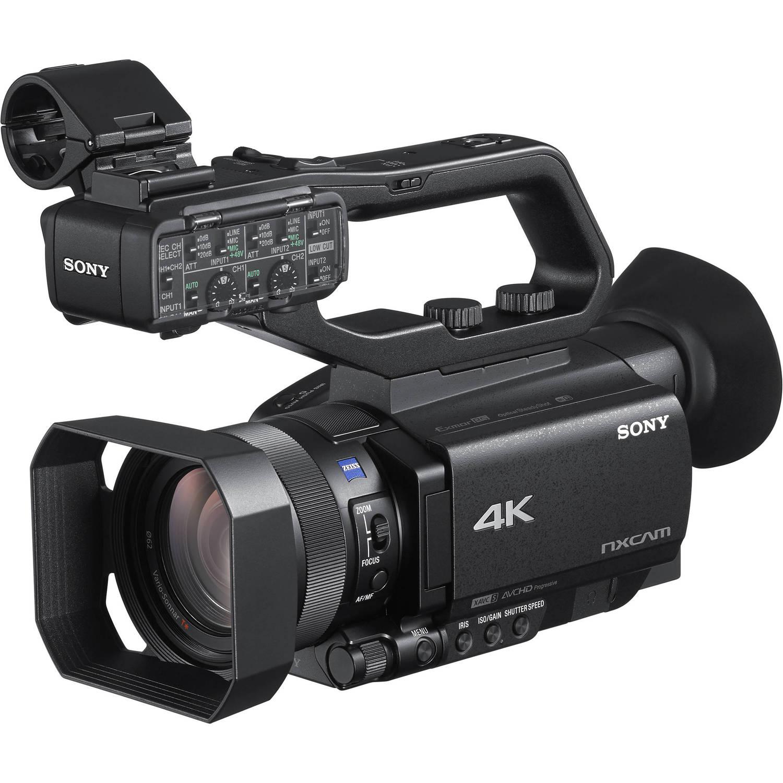 Видеокамера SONY HXR-NX80 + микрофон ECM-XM1 (HXR-NX80/XLR) фото