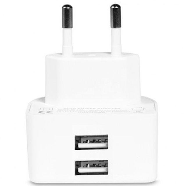 Зарядний пристрій Remax RMT7188 2хUSB 2.1A white фото