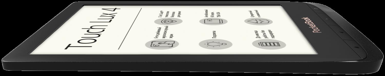 Електронна книга PocketBook 627 Touch Lux 4 Obsidian Black фото4