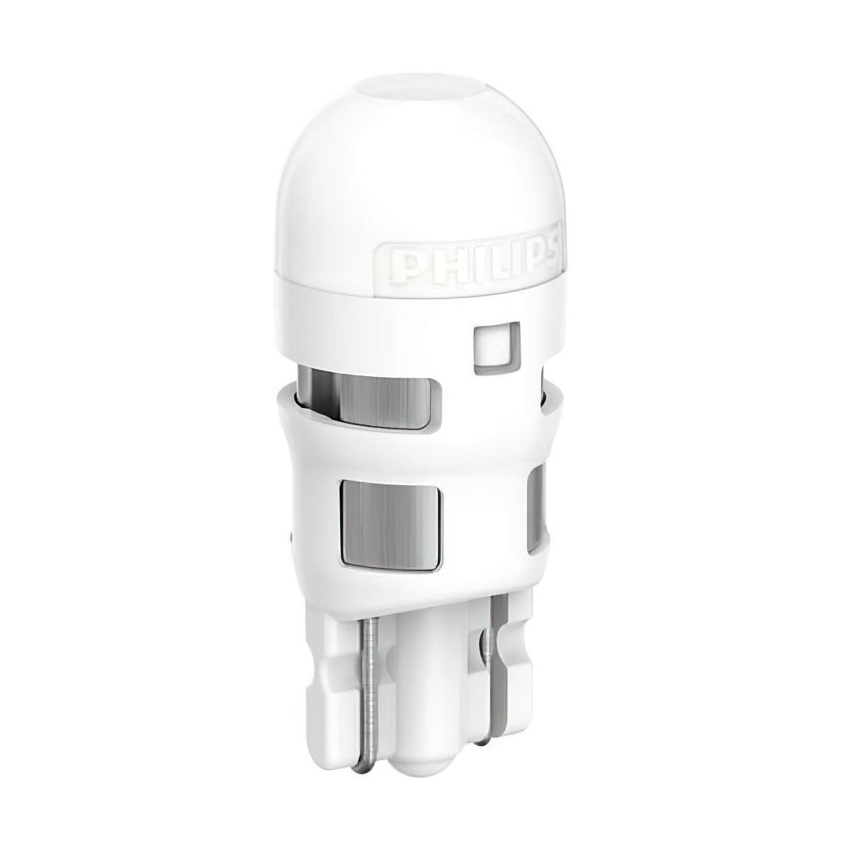 Лампа светодиодная Philips W5W Ultinon 6000K (11961ULWX2) фото 2