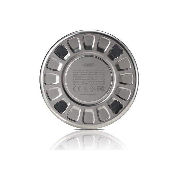 Бездротове зарядний пристрій Remax Wireless Infinite 5W Silver фото2