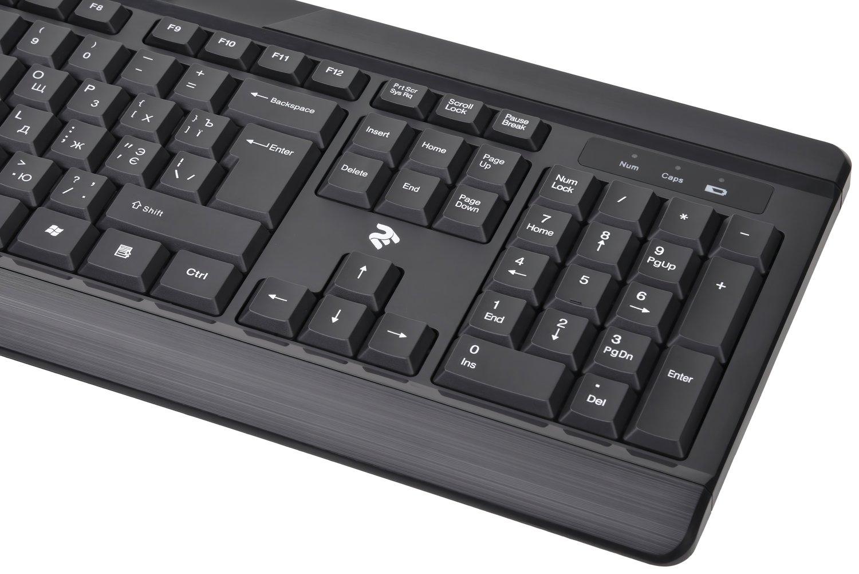 Беспроводной комплект мышь+клавиатура 2E MF410 Black (2E-MK410MWB) фото 5