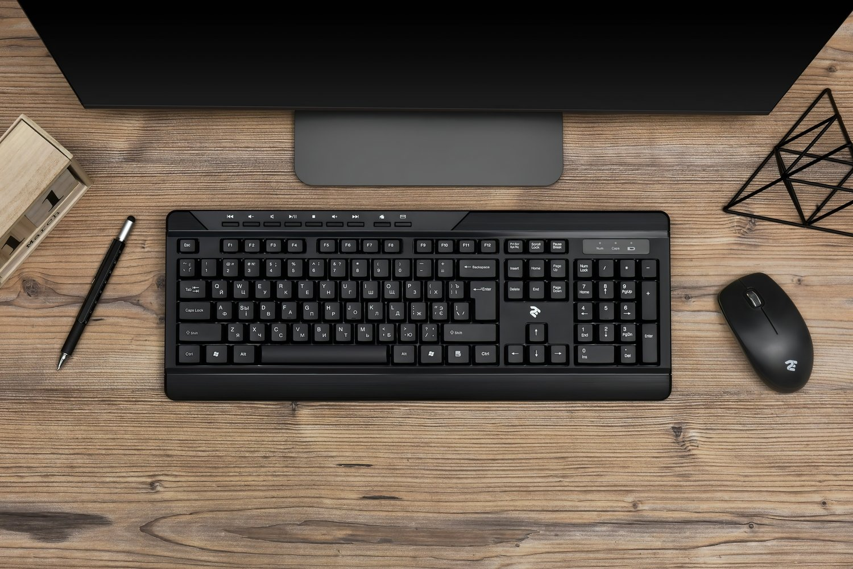 Беспроводной комплект мышь+клавиатура 2E MF410 Black (2E-MK410MWB) фото 15