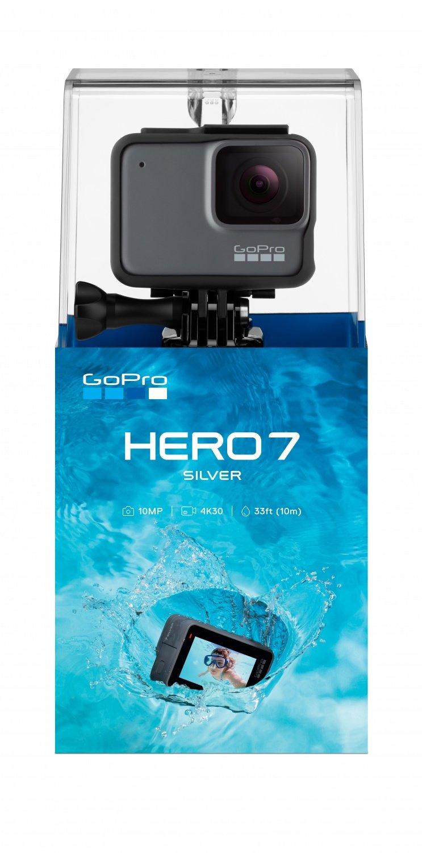 Екшн-камера GoPro HERO7 Silver (CHDHC-601-RW) фото
