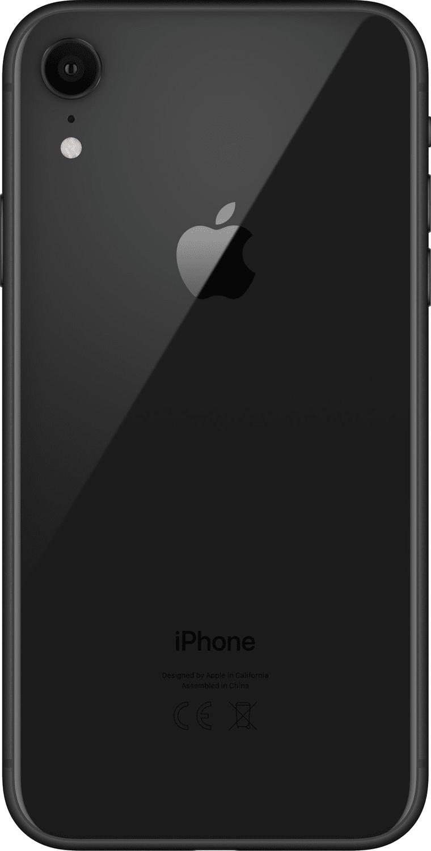 Смартфон Apple iPhone XR 128GB Black (slim box) (MH7L3) фото